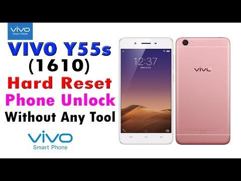 Vivo Y55s 1610 Phone unlock pattern unlock pin unlock