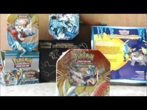 Pokemon White Kyurem EX Tin Opening