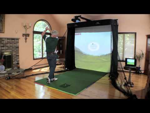 The Net Return - Simulator Series Golf Hitting Bay