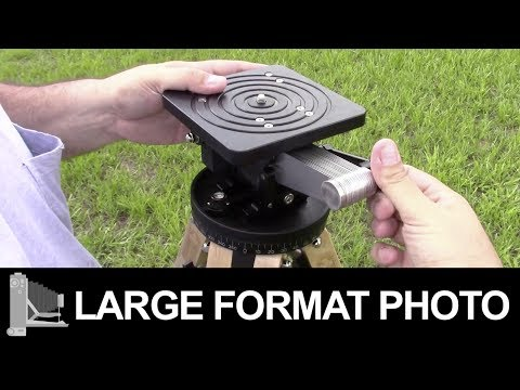 Ries Tripod –  Large Format Film Photography