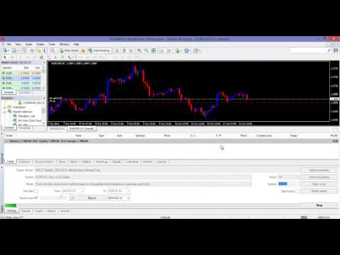 How to Back Test Forex EA Robot