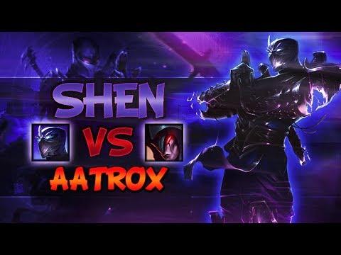Shen VS Aatrox - Top Lane Season 8 [SHEN MAIN] - League Of Legends
