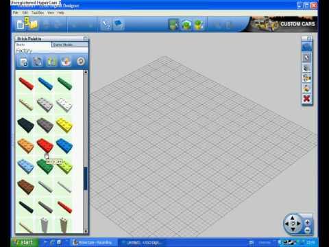 Lego DIgital Designer-Tutorial 1