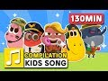 GREAT JOBS IN THE WORLD 2 AND OTHER SONGS 130MIN LARVA KIDS SUPER BEST SONGS FOR KIDS