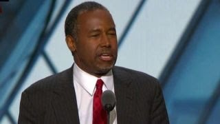 Dr. Ben Carson addresses the Republican National Convention