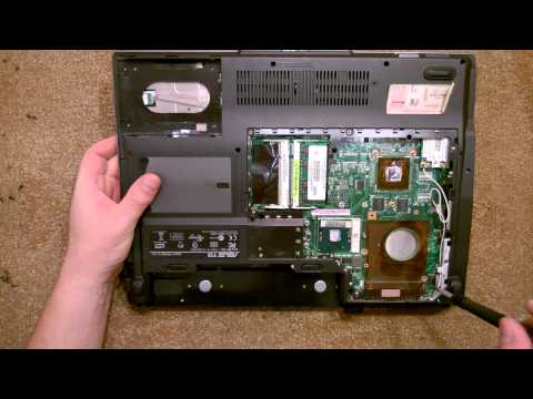 Asus k52f take apart, disassembly, how-to video (nothing left) hd.