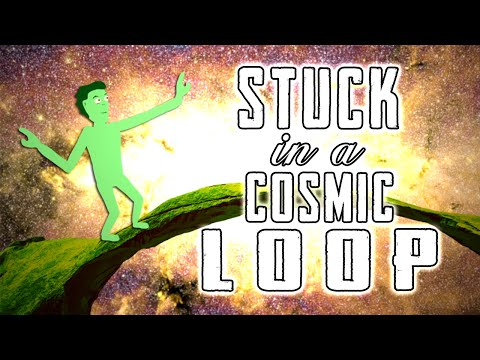 STUCK IN A COSMIC LOOP - a beginners animation in after effects