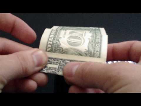 Dollar Origami Cube
