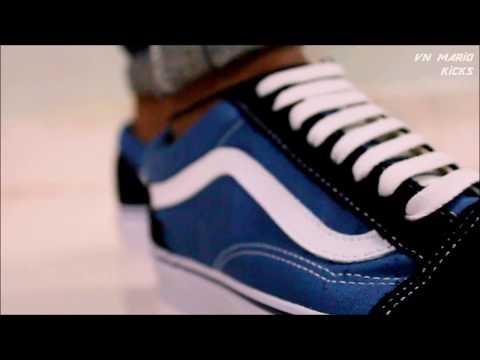 Vans Old School Sneakers ON FEET