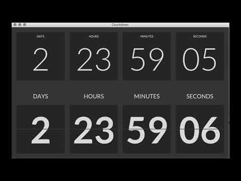 TilesFX Countdown Timer