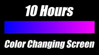 Color Changing Screen Mood Led Lights - Dark Blue-Violet-Pink [10 Hours]