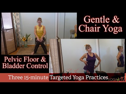 Yoga for the Pelvic Floor and Bladder Control Series with Sherry Zak Morris