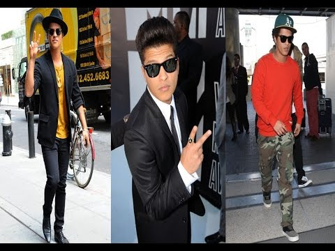 Bruno Mars New Hair Style & Casual Style - 2016