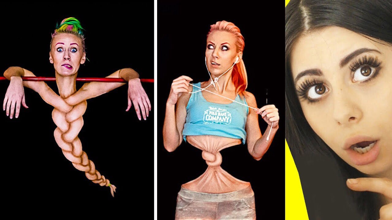 These Makeup Artists are Masters of BODY PAINT ILLUSIONS