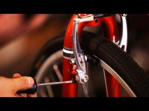 How to Adjust Too-Tight Brakes   Bicycle Repair