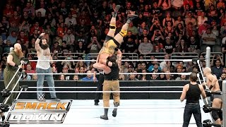 Dean Ambrose, Ryback & Cesaro vs. The Wyatt Family: SmackDown – 29. Oktober 2015