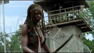 The Walking Dead 4x08 - Too Far Gone - Michonne uccide il Governatore (ITA)