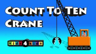 Vehicle Rescue Crane Count To Ten For Kids