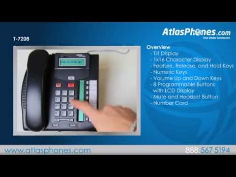Nortel T7208 Avaya T7208 Phone Overview