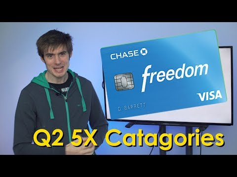 Chase Freedom Q2 5% Categories Revealed!!