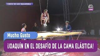 ¡Joaquín en el desafío de la cama elástica! - Mucho Gusto 2017