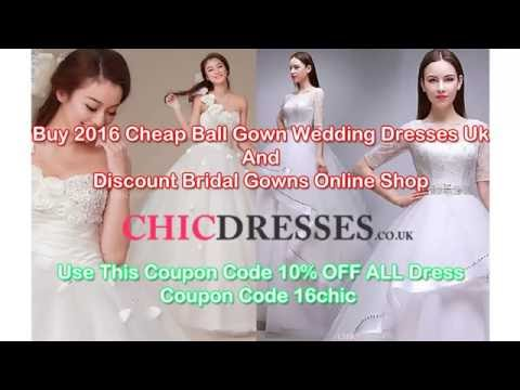 Buy 2016 Cheap Ball Gown Wedding Dresses Uk And Discount Bridal Gowns Online Shop