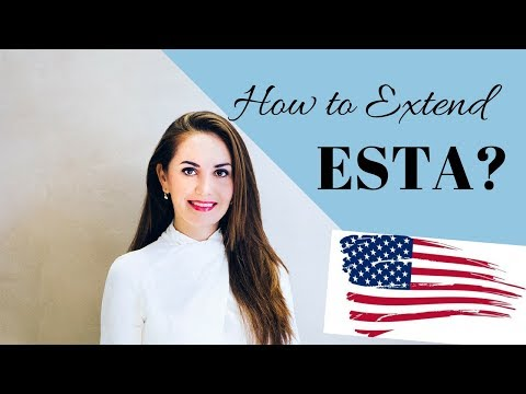 How to extend ESTA in the USA✔️