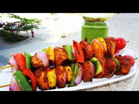 Chicken tikka without oven / chicken tikka recipe in malayalam / easy chicken tikka on stovetop