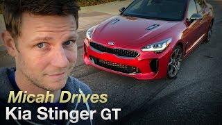 Download Micah Drives a Kia Stinger GT Video