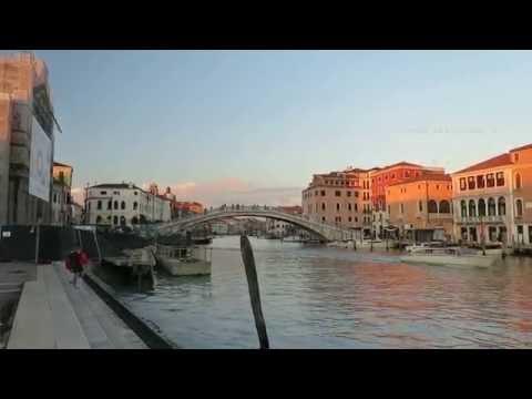 Venice train Station - Venezia Santa Lucia - and a walk to the Grand Canel in Venice Italy