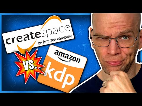 KDP Paperback vs Createspace Book Publishing