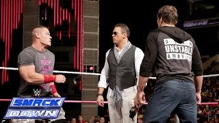 """Miz TV"" with special guests John Cena and Dean Ambrose: SmackDown, Oct. 10, 2014"