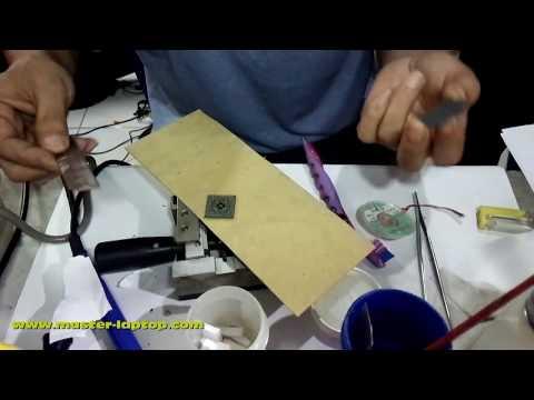 Reball Chipset BGA 1menit jadi Tanpa Blower Dengan Chipset Preheater