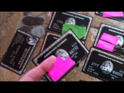 Replica American Express METAL Black Card (Centurion Card)