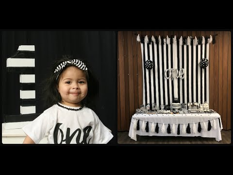 Callie's Black & White Party!