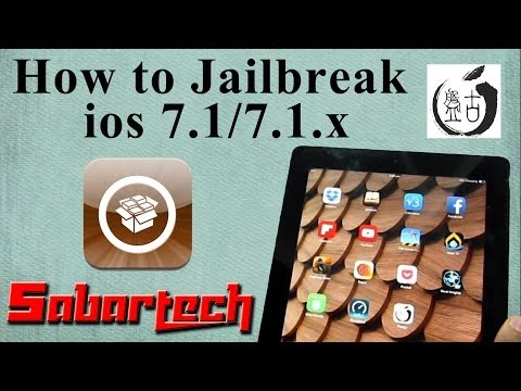 How to Jailbreak 7.1/ 7.1.x Untethered Pangu