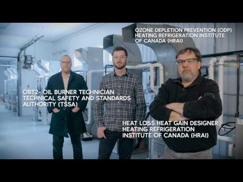 Cambrian College - (HVAC) Heating, Ventilation and Air Conditioning Technician.