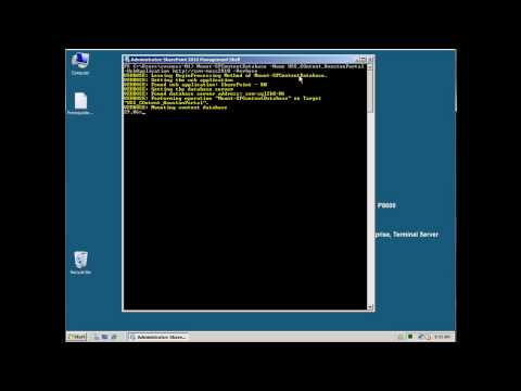 Migrate SharePoint 2007 To SharePoint 2010