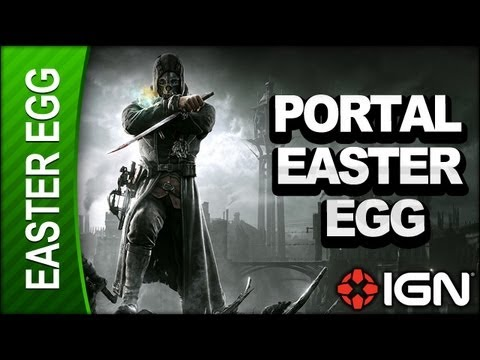 Dishonored - Portal Easter Egg