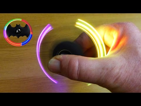 Batman LED Fidget Spinner - How to Make