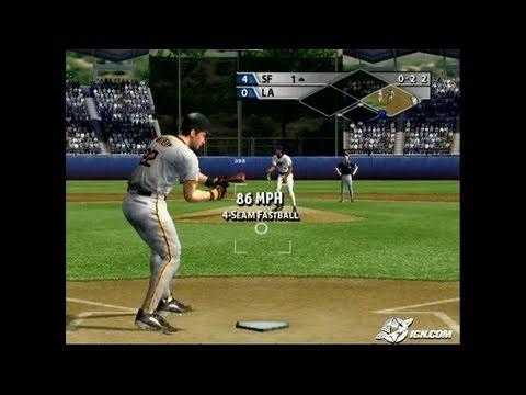 MVP Baseball 2005 GameCube Gameplay - Gotta love the smell