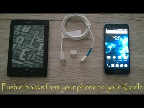 Push your e-books from an android smartphone to your Kindle without a PC (ENGLISH)