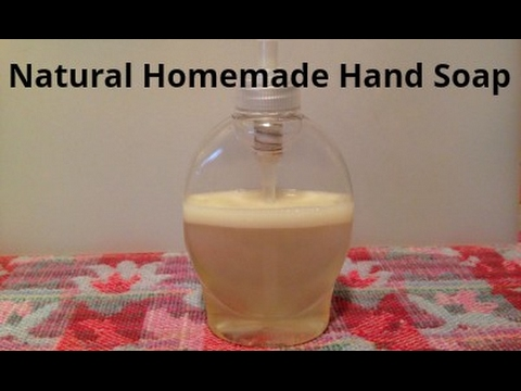DIY Natural Hand Soap with Essential Oils