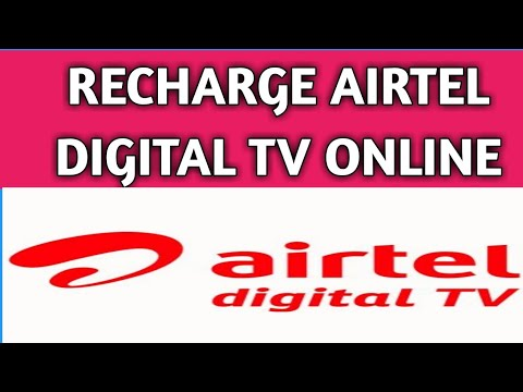 How to recharge airtel digital tv online