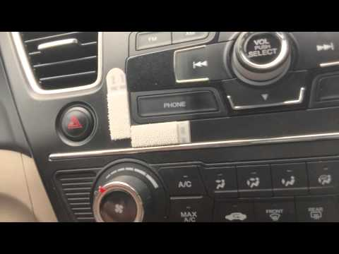 Tip: How to stick phone on dashboard easily!