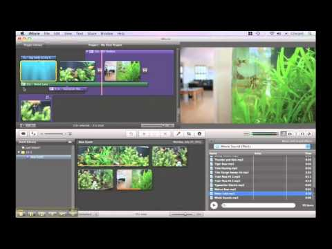 iMovie Video Tutorials - How to add Sound Effects
