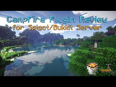 CampFire Plugin Review for Spigot/Bukkit Server