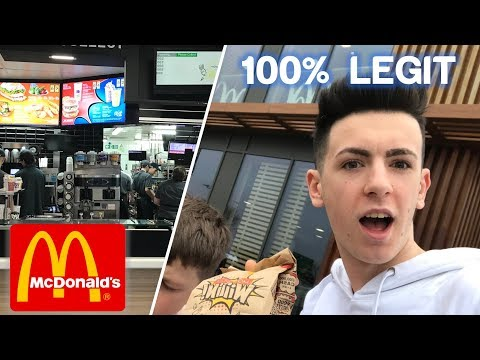 How To Get FREE FOOD From MCDONALDS (Working Method 2018!)