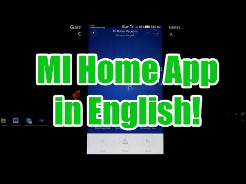 MI Home App Now in English