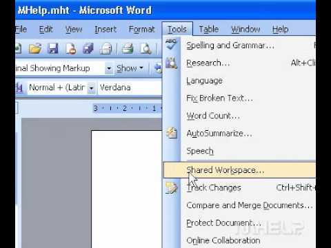 Microsoft Office Word 2003 Change the author name in a new document